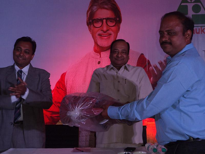 2015-Felicitation of South team at Zonal Training Program