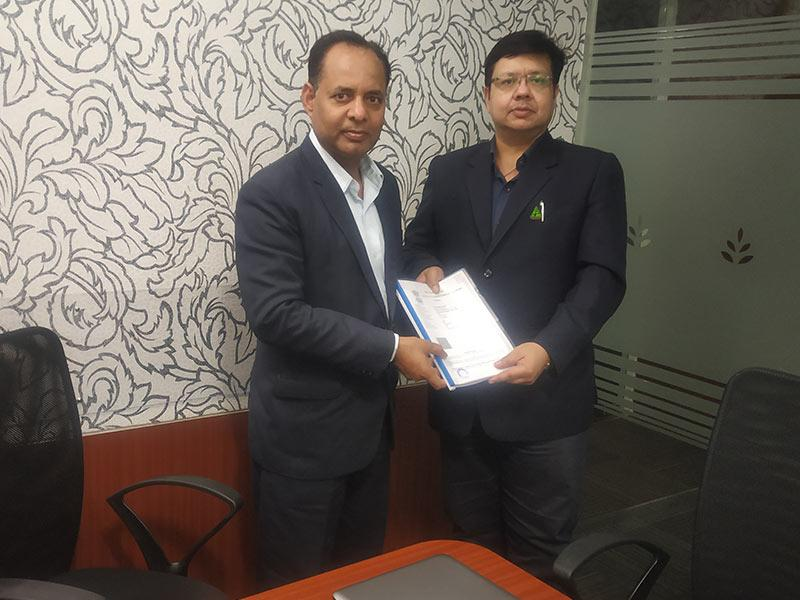 2019 - Signing of Water Harvesting Project Agreement between DAL & ISAP