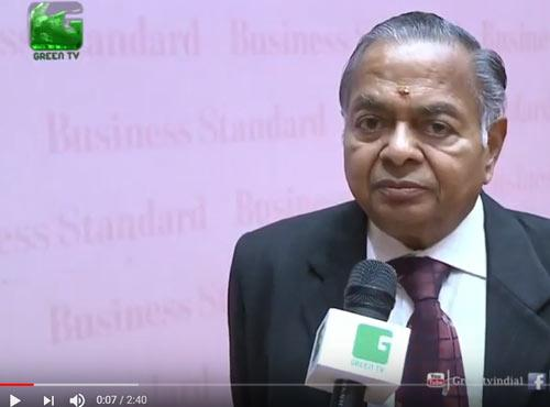 Business Standard Agricultural Roundtable 2017 -  Group Chairman Shri. R G Agarwal speaks