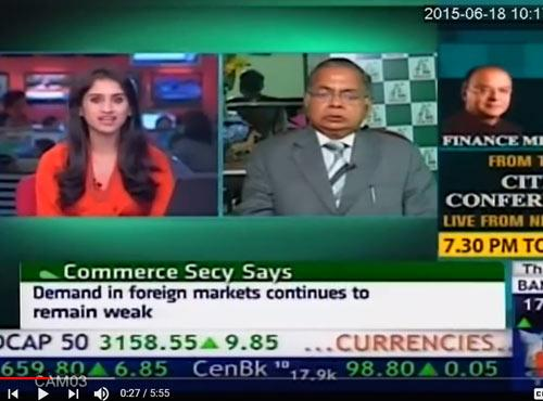 CNBC TV 18 Bazaar Corporate Radar - DAL