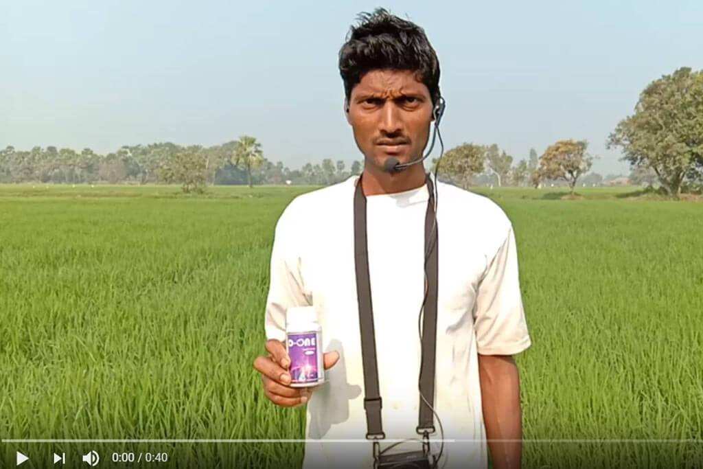 D-ONE Insecticide in Paddy for BPH - Farmer Testimonial - Pavan